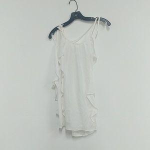 Ramy Brook Tiera soft white top